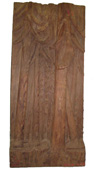 Click here to view larger images and more information about this carved wood wall sculpture